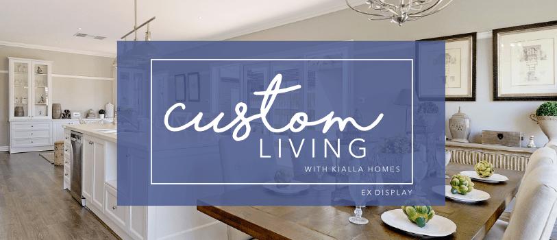 Custom Living Promotion Heading Ex