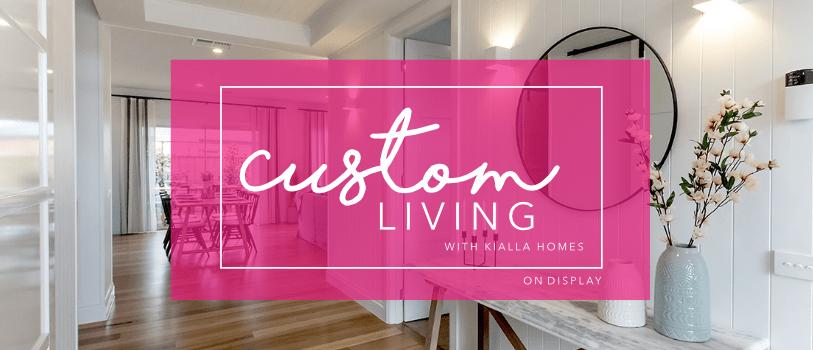 Custom Living Promotion Heading On